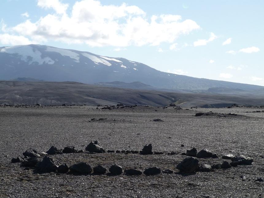Iceland, Hekla volcano installation